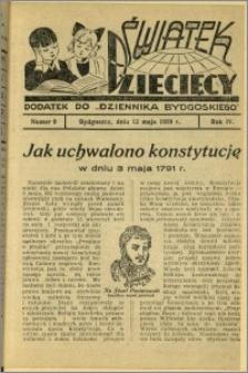 Światek Dziecięcy, 1939, R.4, nr 9
