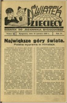 Światek Dziecięcy, 1939, R.4, nr 11