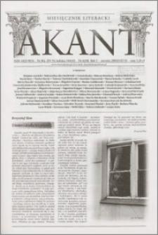 Akant : miesięcznik literacki 2002 R.5 nr 6(58)