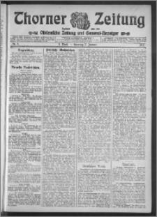 Thorner Zeitung 1912, Nr. 5 1 Blatt