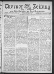 Thorner Zeitung 1912, Nr. 29 2 Blatt