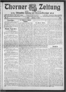 Thorner Zeitung 1912, Nr. 57 1 Blatt