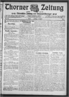 Thorner Zeitung 1912, Nr. 81 1 Blatt
