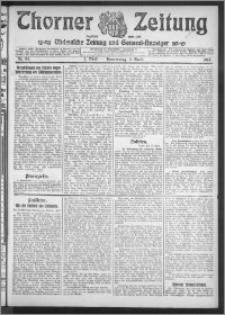 Thorner Zeitung 1912, Nr. 84 2 Blatt
