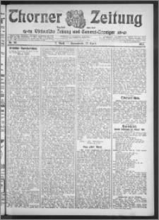 Thorner Zeitung 1912, Nr. 98 2 Blatt