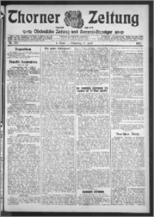 Thorner Zeitung 1912, Nr. 134 1 Blatt