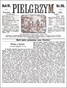 Pielgrzym, pismo religijne dla ludu 1874 nr 39