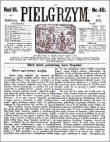 Pielgrzym, pismo religijne dla ludu 1874 nr 40