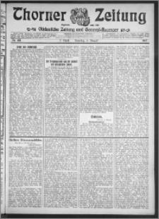 Thorner Zeitung 1912, Nr. 181 2 Blatt