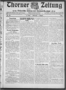 Thorner Zeitung 1912, Nr. 183 1 Blatt