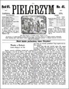 Pielgrzym, pismo religijne dla ludu 1874 nr 41