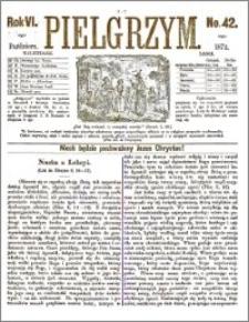 Pielgrzym, pismo religijne dla ludu 1874 nr 42