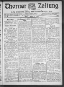 Thorner Zeitung 1912, Nr. 191 1 Blatt
