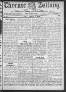 Thorner Zeitung 1912, Nr. 192 2 Blatt