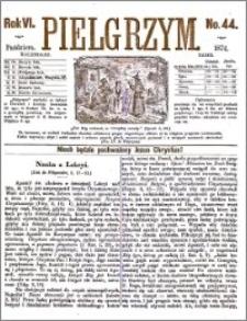 Pielgrzym, pismo religijne dla ludu 1874 nr 44