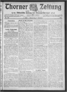 Thorner Zeitung 1912, Nr. 208 1 Blatt