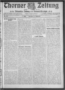 Thorner Zeitung 1912, Nr. 212 2 Blatt