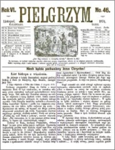 Pielgrzym, pismo religijne dla ludu 1874 nr 46
