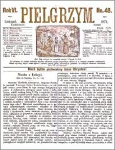Pielgrzym, pismo religijne dla ludu 1874 nr 48
