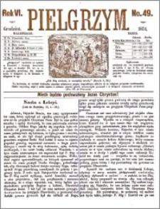 Pielgrzym, pismo religijne dla ludu 1874 nr 49