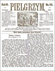Pielgrzym, pismo religijne dla ludu 1874 nr 50