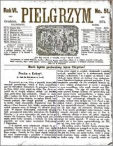 Pielgrzym, pismo religijne dla ludu 1874 nr 51