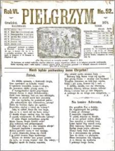 Pielgrzym, pismo religijne dla ludu 1874 nr 52