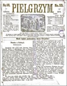 Pielgrzym, pismo religijne dla ludu 1874 nr 53