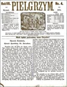 Pielgrzym, pismo religijne dla ludu 1875 nr 4