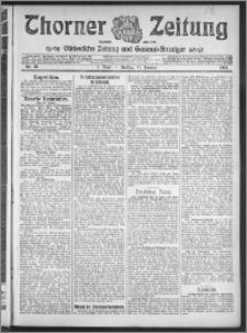 Thorner Zeitung 1913, Nr. 26 1 Blatt