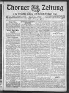 Thorner Zeitung 1913, Nr. 29 1 Blatt