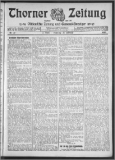 Thorner Zeitung 1913, Nr. 47 2 Blatt