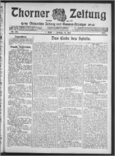 Thorner Zeitung 1913, Nr. 166 1 Blatt