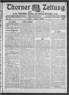 Thorner Zeitung 1913, Nr. 178 1 Blatt