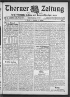 Thorner Zeitung 1913, Nr. 192 2 Blatt