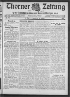 Thorner Zeitung 1913, Nr. 203 1 Blatt