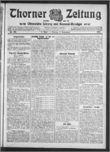 Thorner Zeitung 1913, Nr. 208 1 Blatt