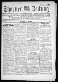 Thorner Zeitung 1921, Nr. 291