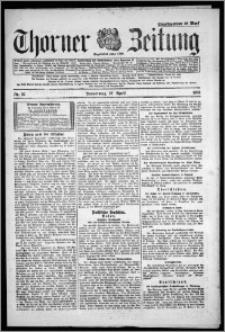 Thorner Zeitung 1922, Nr 97