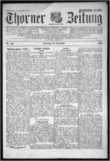 Thorner Zeitung 1922, Nr 296
