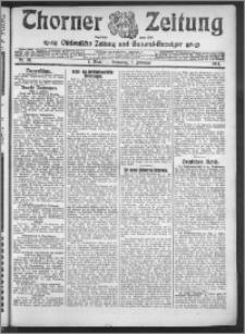 Thorner Zeitung 1914, Nr. 28 1 Blatt