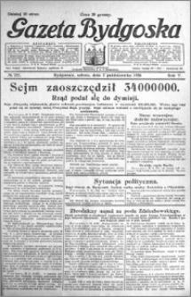 Gazeta Bydgoska 1926.10.02 R.5 nr 227