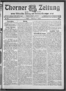 Thorner Zeitung 1914, Nr. 82 1 Blatt