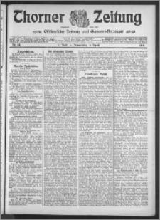 Thorner Zeitung 1914, Nr. 84 1 Blatt