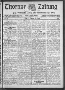 Thorner Zeitung 1914, Nr. 98 1 Blatt