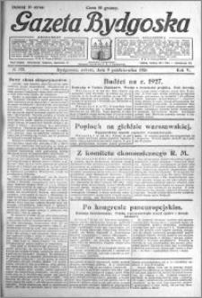 Gazeta Bydgoska 1926.10.09 R.5 nr 233