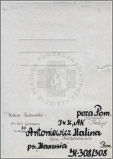 Antoniewicz Halina