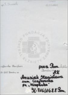 Anusiak Stanisława