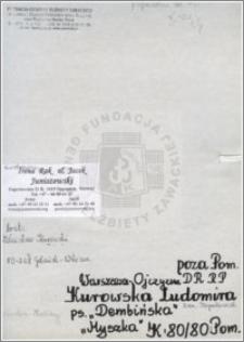 Kurowska Ludomira