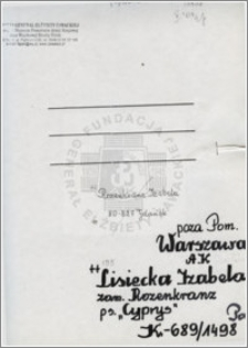 Lisiecka Izabela